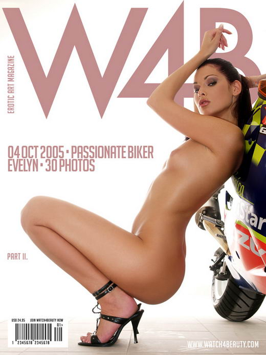 Evelyn in Passionate Biker - Part II gallery from WATCH4BEAUTY by Mark