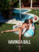 Baby Nicols & Lottie Magne in Having A Ball video from WATCH4BEAUTY by Mark