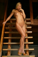 Adriana in Wooden Stairs gallery from WATCH4BEAUTY by Mark - #15