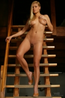 Adriana in Wooden Stairs gallery from WATCH4BEAUTY by Mark - #2