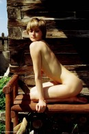 Zuzana in Wooden Bench gallery from ERROTICA-ARCHIVES by Erro - #8