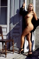 Madeline in Black Coat gallery from ERROTICA-ARCHIVES by Erro - #2