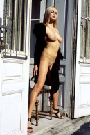 Madeline in Black Coat gallery from ERROTICA-ARCHIVES by Erro - #3
