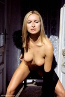 Madeline in Black Coat gallery from ERROTICA-ARCHIVES by Erro - #4