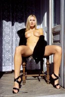 Madeline in Black Coat gallery from ERROTICA-ARCHIVES by Erro - #5