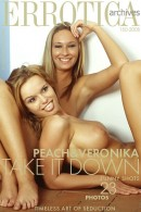 Peach & Veronika in Take It Down Funny Shots gallery from ERROTICA-ARCHIVES by Erro - #11