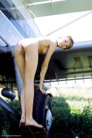 Olga in Plane Two gallery from ERROTICA-ARCHIVES by Erro - #13