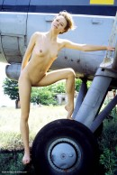 Olga in Plane Two gallery from ERROTICA-ARCHIVES by Erro - #2