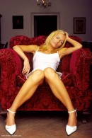 Piera in Velvet Chair gallery from ERROTICA-ARCHIVES by Erro - #7