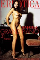 Gabriela in Grand Piano gallery from ERROTICA-ARCHIVES by Erro - #13