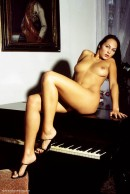 Gabriela in Grand Piano gallery from ERROTICA-ARCHIVES by Erro - #6