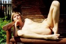 Zuzana in Wooden Bench gallery from ERROTICA-ARCHIVES by Erro - #2