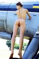 Olga in Plane gallery from ERROTICA-ARCHIVES by Erro - #15