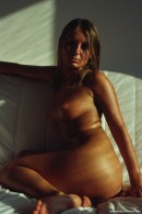 Bellena in Sun Bath On White Couch gallery from ERROTICA-ARCHIVES by Erro - #11