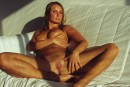 Bellena in Sun Bath On White Couch gallery from ERROTICA-ARCHIVES by Erro - #16