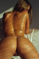 Bellena in Sun Bath On White Couch gallery from ERROTICA-ARCHIVES by Erro - #8