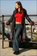 Sandra Shine in Postcard From Budapest gallery from MPLSTUDIOS - #5