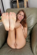 Riley Reid in footfetish gallery from ATKPETITES - #5