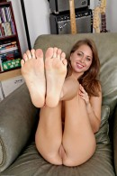 Riley Reid in footfetish gallery from ATKPETITES - #6