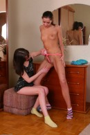 Lida & Grace Young in lesbian gallery from ATKPETITES - #8
