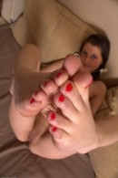 Lida in footfetish gallery from ATKPETITES - #4