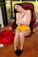 Samantha Bentley in upskirts and panties gallery from ATKPETITES - #2