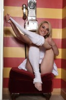 Ashley Stone in footfetish gallery from ATKPETITES - #13