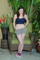 Ally Evans in nudism gallery from ATKPETITES - #8