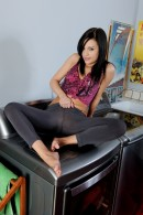 Brandi Belle in footfetish gallery from ATKPETITES - #14