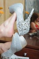Cheyenne in footfetish gallery from ATKPETITES - #8