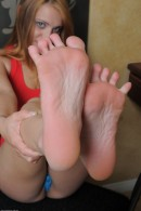 Cheyenne in footfetish gallery from ATKPETITES - #9