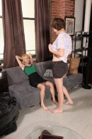 Jane & Dani in hairy lesbians gallery from ATKPETITES - #9