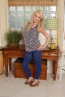 Chloe Lynn in footfetish gallery from ATKPETITES - #1