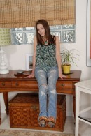 Kiera Winters in footfetish gallery from ATKPETITES - #1