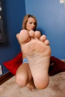 Laney Boggs in footfetish gallery from ATKPETITES - #14