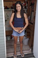 Elena Nichols in upskirts and panties gallery from ATKPETITES - #10
