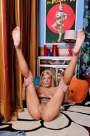Carmen Monet in footfetish gallery from ATKPETITES - #15