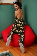 Miyu in exotic and hairy gallery from ATKPETITES - #11