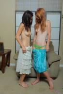 Stella Haze & Pepper Kester in lesbian gallery from ATKPETITES - #10
