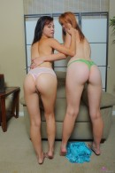 Stella Haze & Pepper Kester in lesbian gallery from ATKPETITES - #14