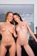 Jennifer & Eden in hairy lesbians gallery from ATKPETITES - #6
