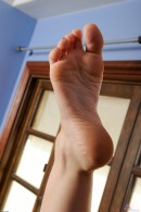 Alexis Blaze in footfetish gallery from ATKPETITES - #7