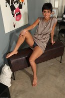 Sonya in exotic and hairy gallery from ATKPETITES - #1