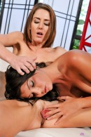 Sheena Shaw & Cassandra Nix in lesbian gallery from ATKPETITES - #3
