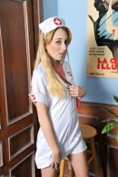 Emma Haize in uniforms gallery from ATKPETITES - #1