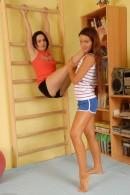 Megan Promesita & Ally Styles in lesbian gallery from ATKPETITES - #8