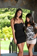 Tiffany Thompson & Layla Rose in lesbian gallery from ATKPETITES - #1