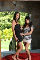 Tiffany Thompson & Layla Rose in lesbian gallery from ATKPETITES - #8