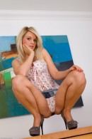 Shelly Roberts in upskirts and panties gallery from ATKPETITES - #1