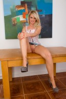 Shelly Roberts in upskirts and panties gallery from ATKPETITES - #7